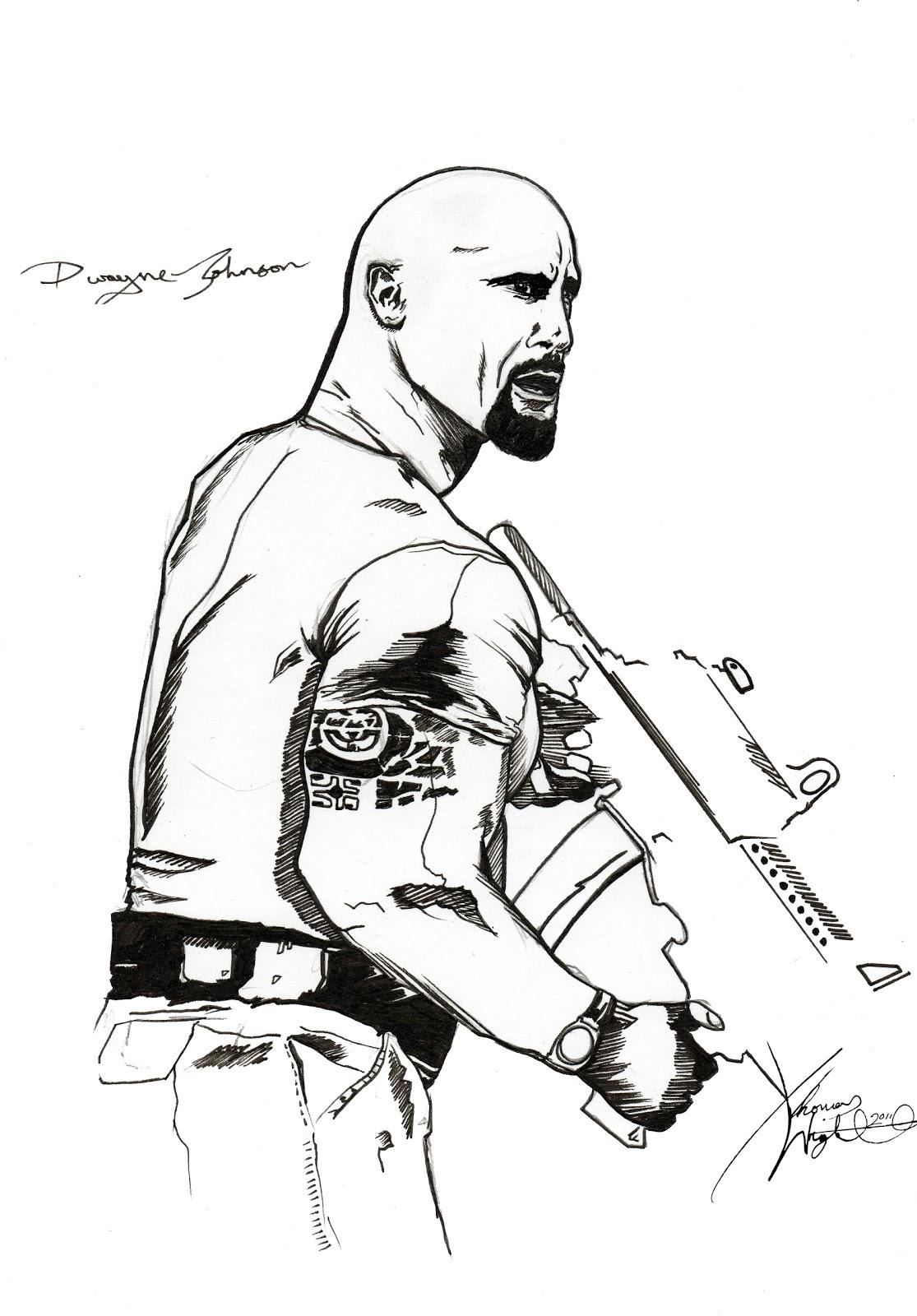 1115x1600 Thomas Wright Illustrator. Dwayne