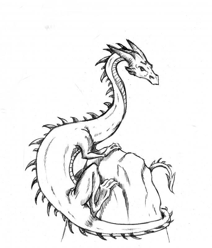 684x800 Dragon Rock