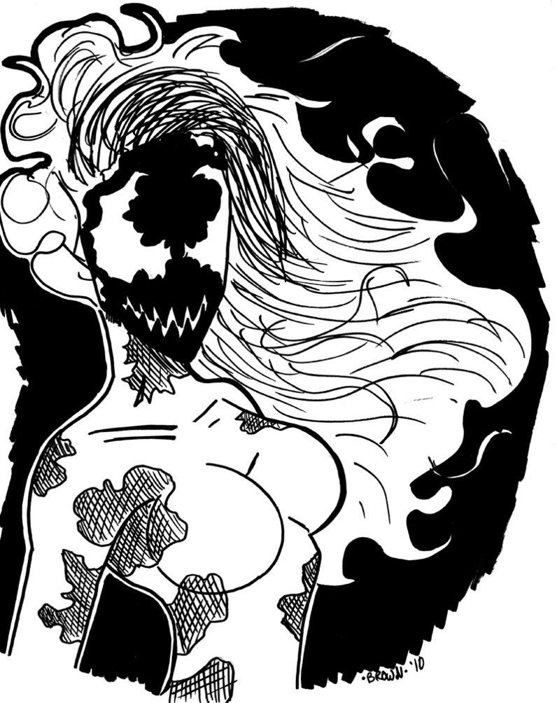 796x1004 Scream Symbiote By Darkstreamstudios