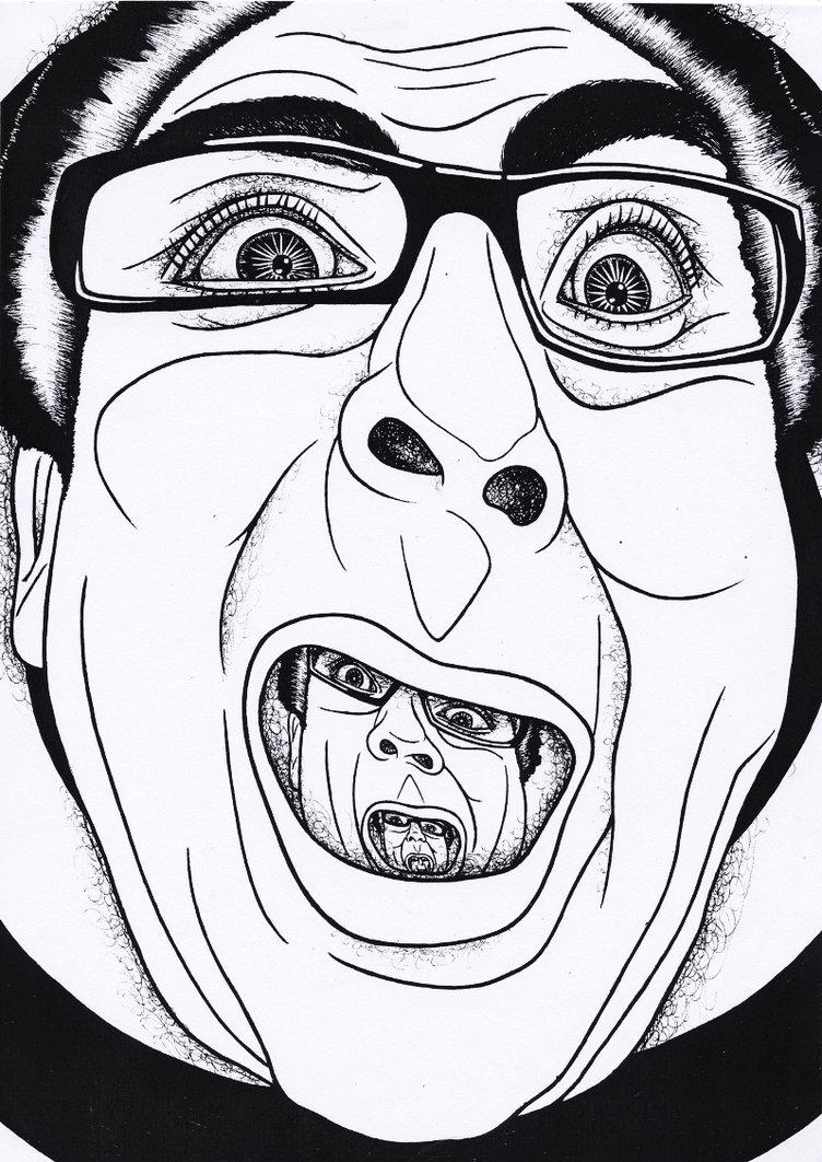 752x1062 A Wilhelm Scream By Jazographs