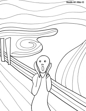 298x385 Munch Scream Famous Art
