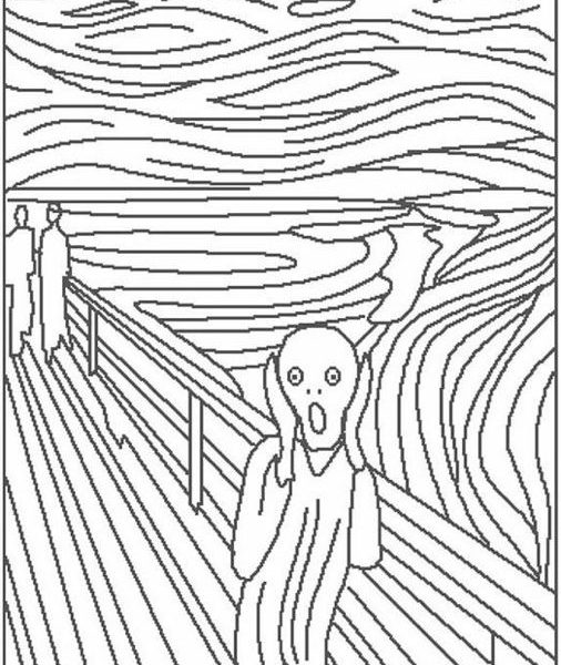 506x600 Download Artistic Coloring Pages
