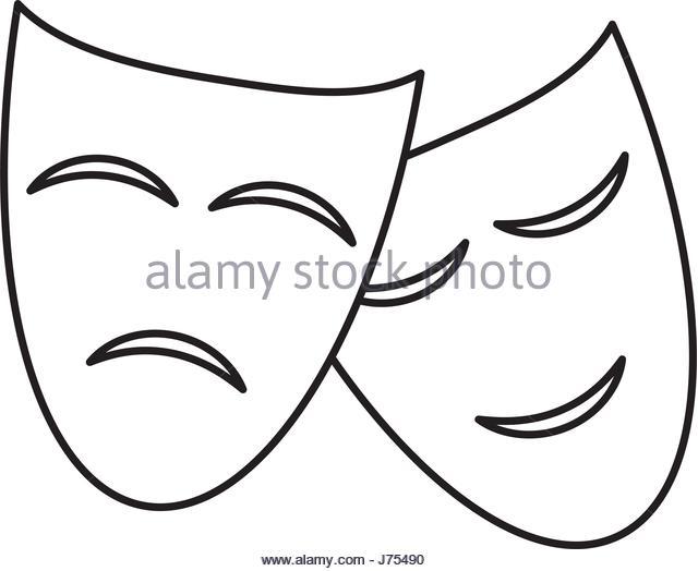 640x524 Theatre Masks Happy Sad Stock Photos Amp Theatre Masks Happy