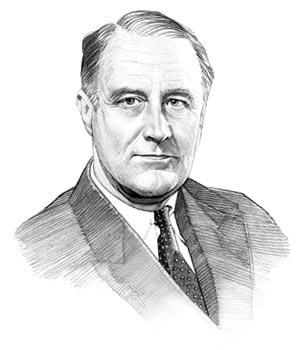 300x350 Franklin Roosevelt Short Biography For Kids