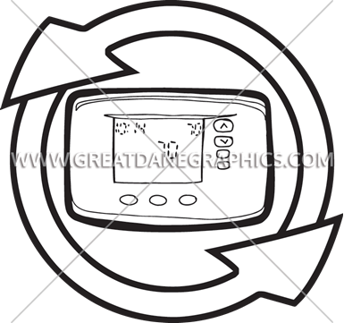 385x361 Thermostat Fan Production Ready Artwork For T Shirt Printing
