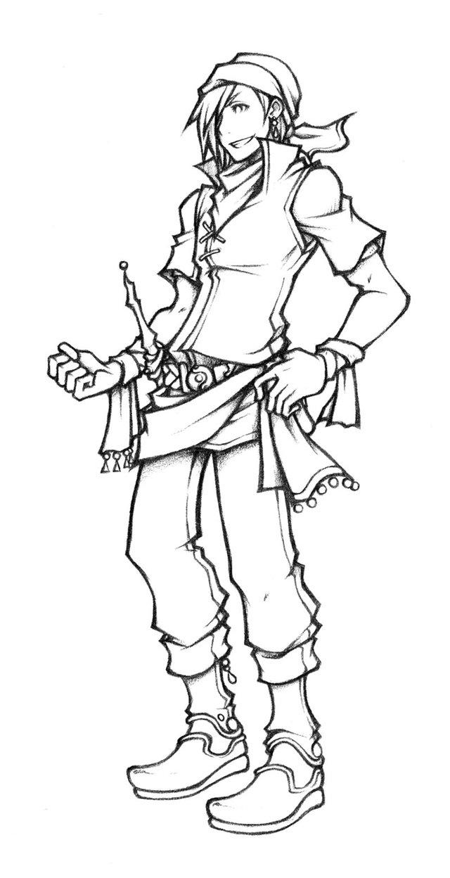 640x1248 Dissidia Thief Of Light Sketch By Isaiahjordan