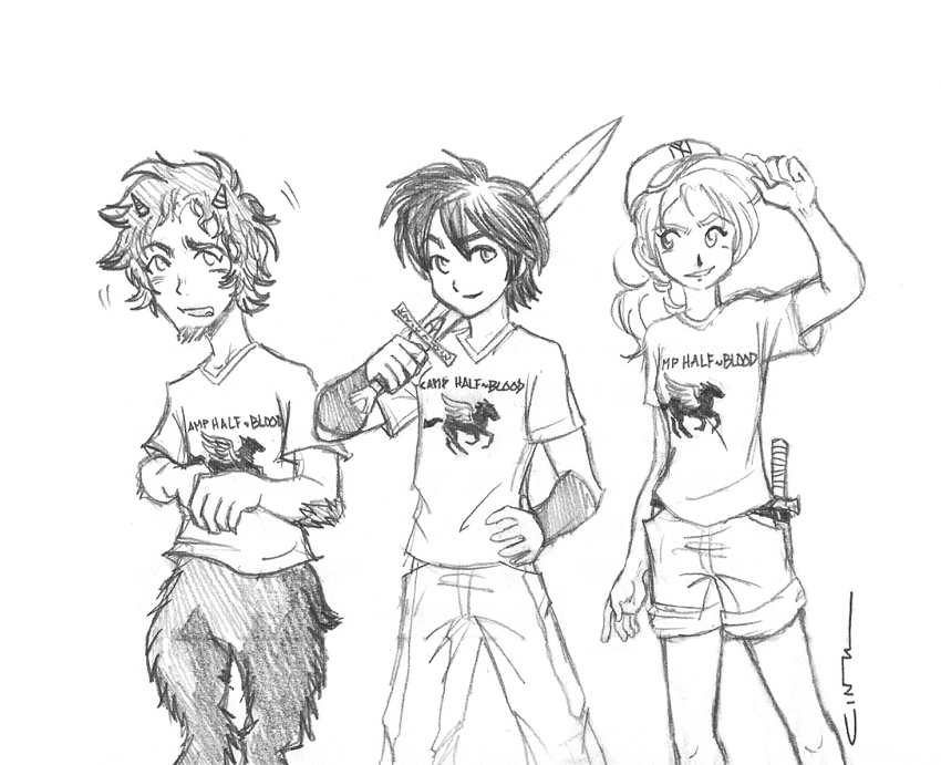 850x691 Percy Jackson And The Lightning Thief Drawings