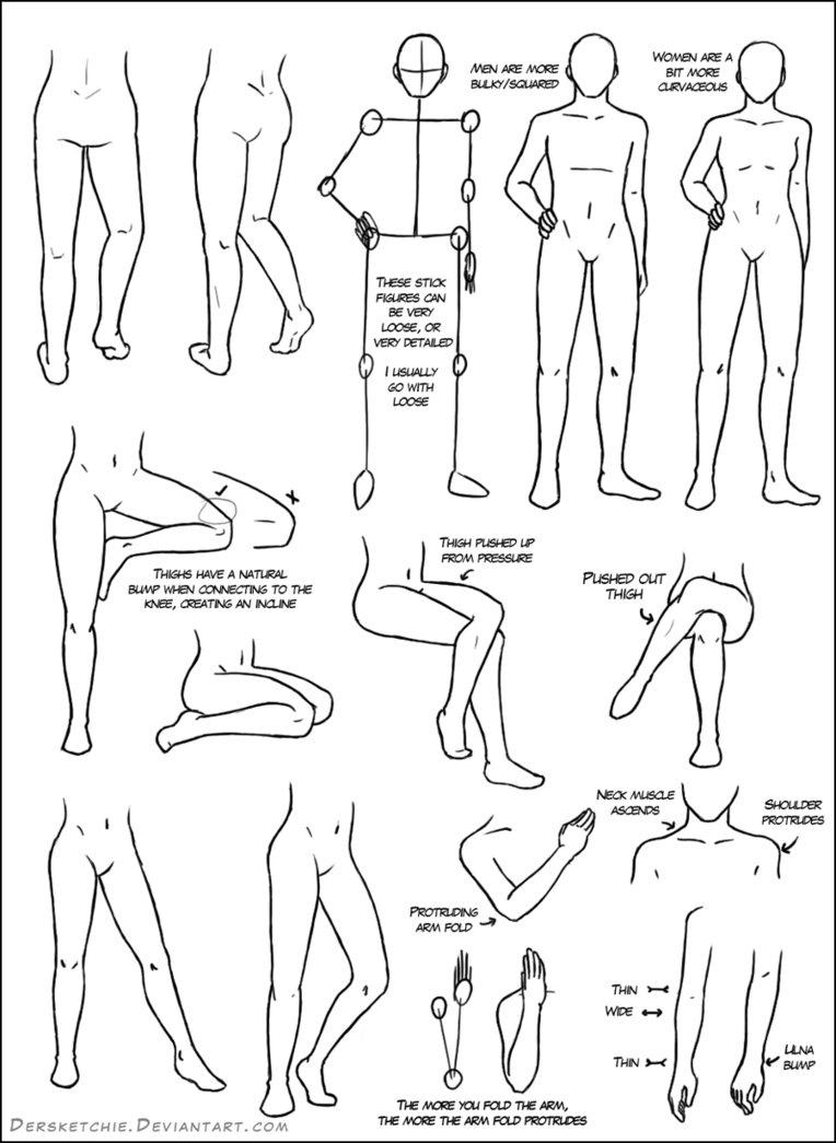 764x1045 Leg Tutorial By Dersketchie