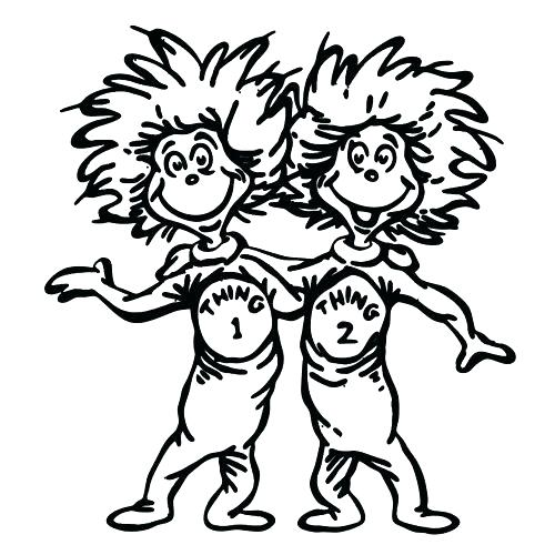 photo regarding Thing 1 and Thing 2 Printable identify Detail 1 And Matter 2 Drawing at  Totally free for