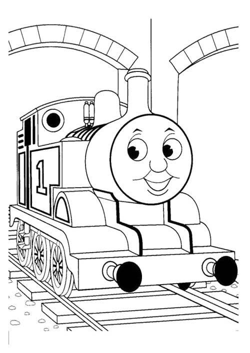 Thomas And Friends Drawing