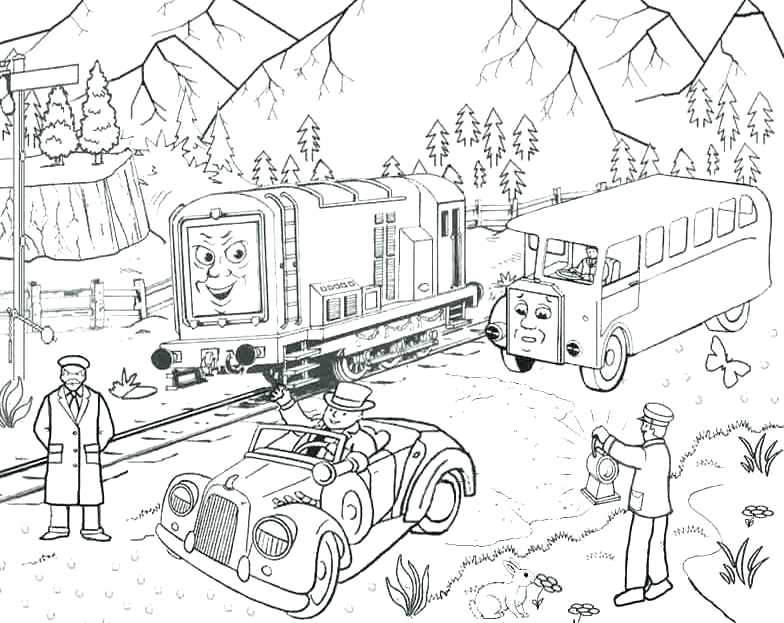 Thomas And Friends Drawing At Getdrawings Com Free For