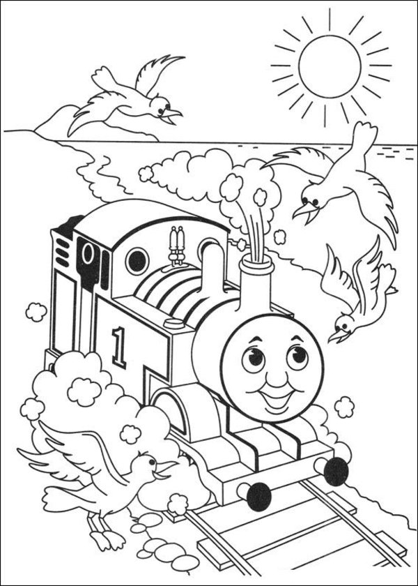 Thomas And Friends Drawing At Getdrawings Com Free For Personal