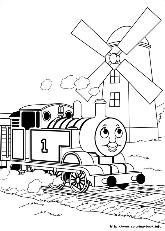 567x794 Thomas And Friends Coloring Pages On Book