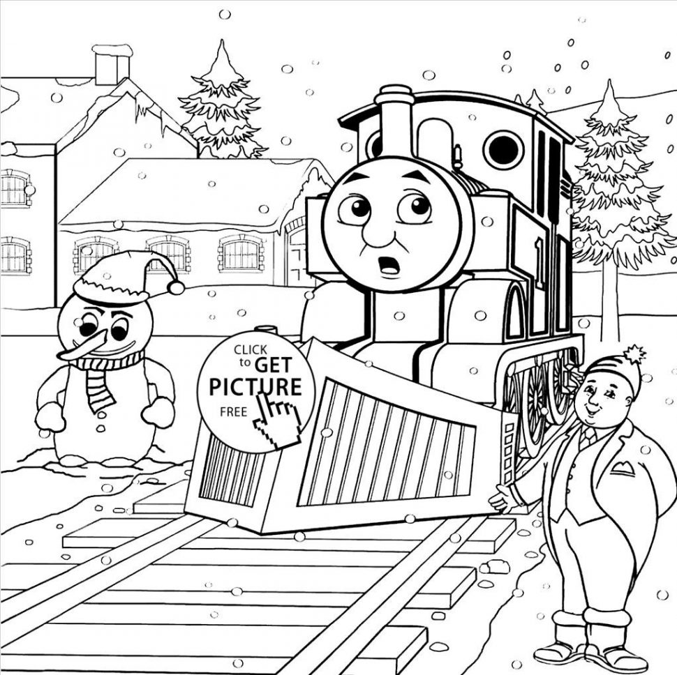 970x968 Coloring Top Thomas And Friends Pages Wall Picture
