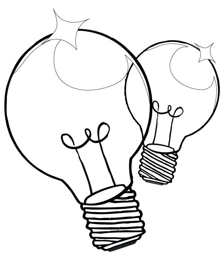 Thomas Edison Light Bulb Drawing at GetDrawingscom Free for