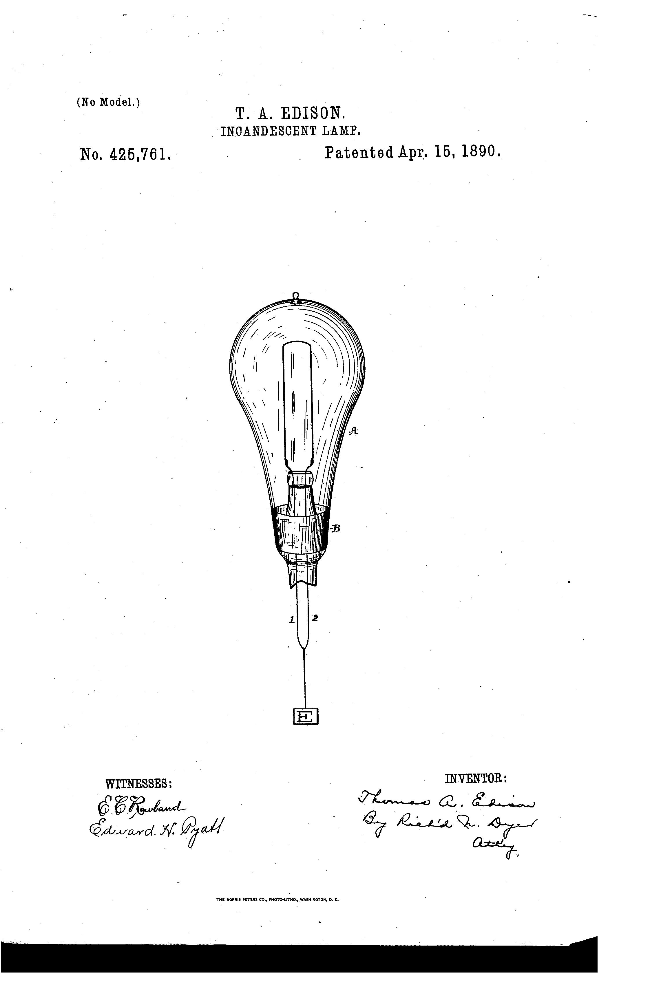 Thomas Edison Light Bulb Drawing at GetDrawings.com | Free for ...