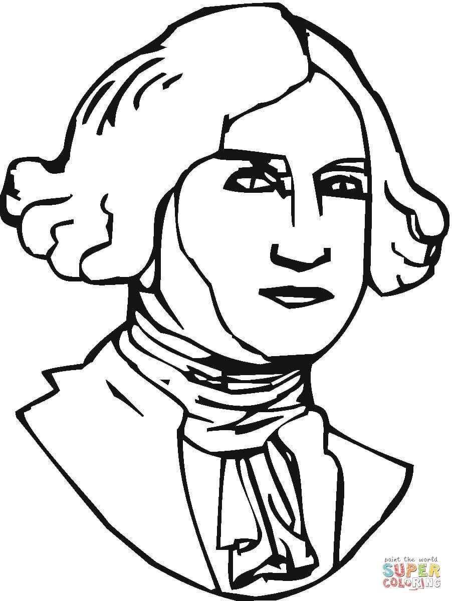 902x1200 Drawing Of Thomas Jefferson Cartoon Thomas Jefferson