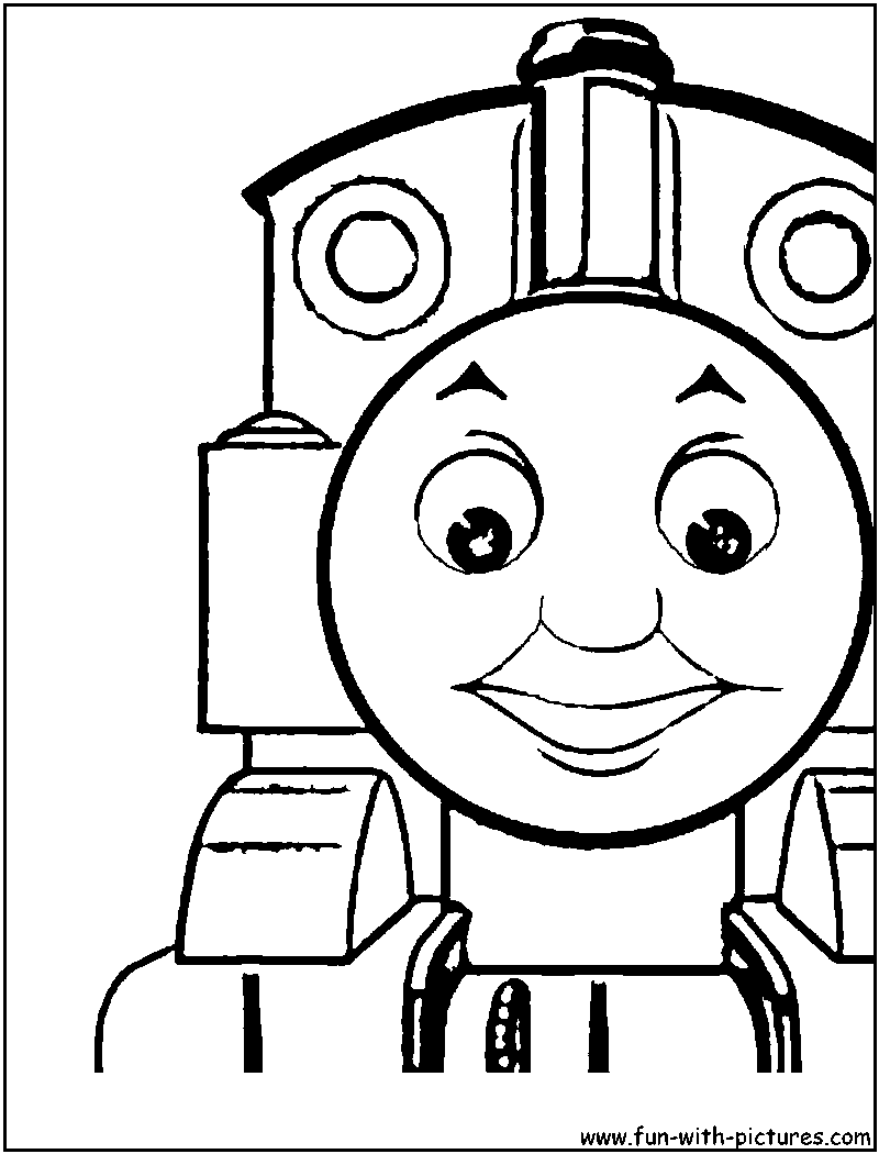 Thomas the tank engine drawing at free for Thomas printable coloring pages
