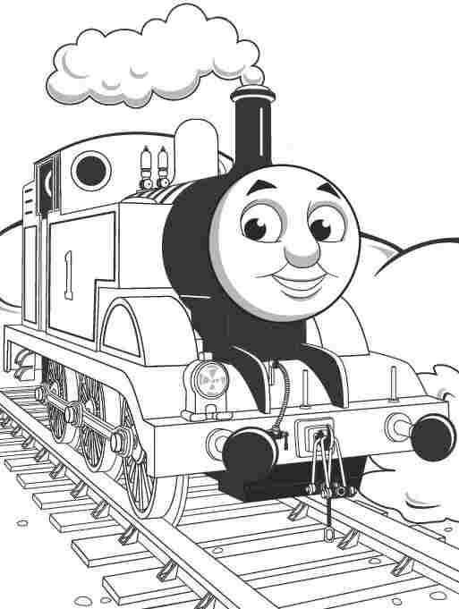 513x681 Thomas The Tank Engine Coloring Pages