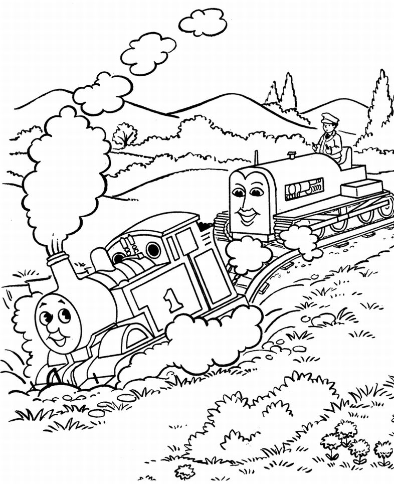 Thomas The Tank Engine Drawing at GetDrawings.com | Free for ...