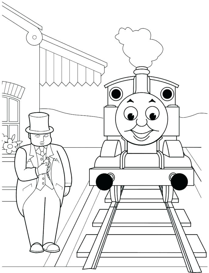 Thomas The Tank Engine Drawing At Getdrawings Com Free For