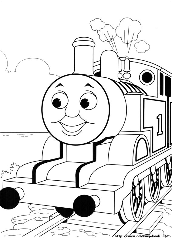 567x794 Printable Thomas Friends Coloring Pages Thomas The Train