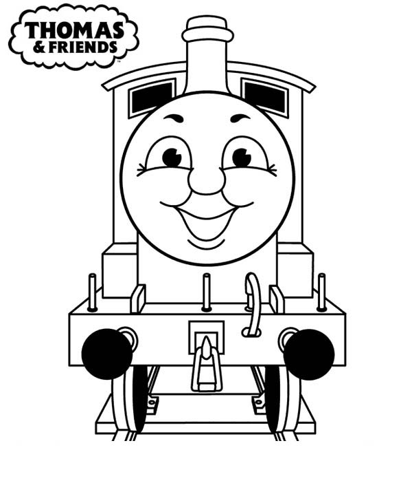 600x702 Thomas And Friends Coloring Pages Free