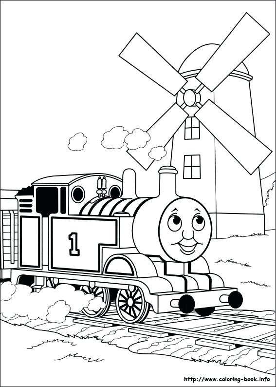 567x794 Thomas Train Coloring Pages Train Coloring Pages Kids The Train