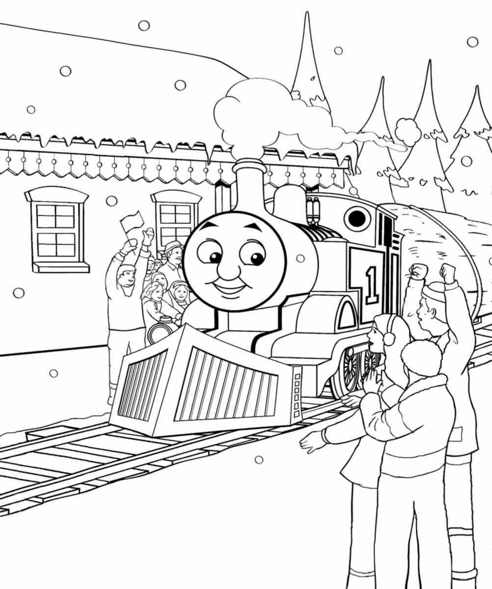 Thomas Train Drawing at GetDrawings.com   Free for personal use ...
