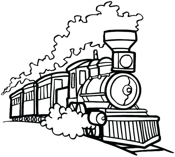 600x538 Thomas Train Coloring Pages Printable