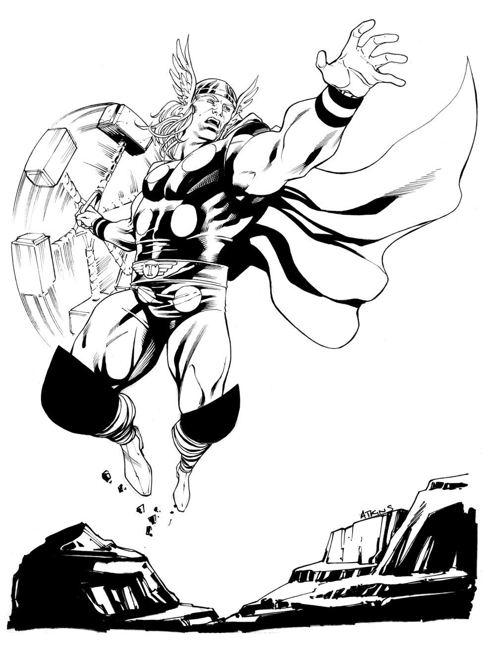 975x1301 Robert Atkins Art Ahh The Classics Thor Comic Book