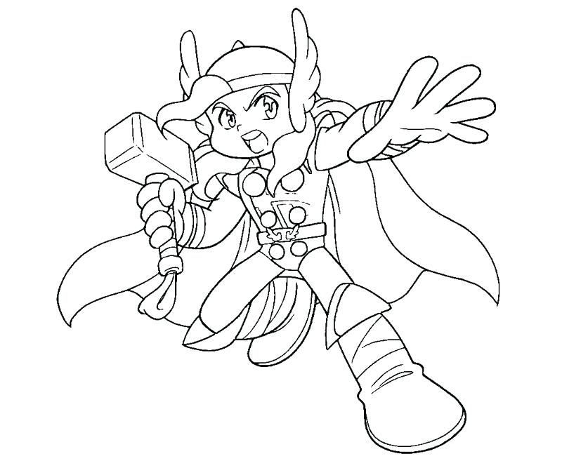800x667 Here Are Thor Coloring Pages Pictures 5 Coloring Page Thor Cartoon
