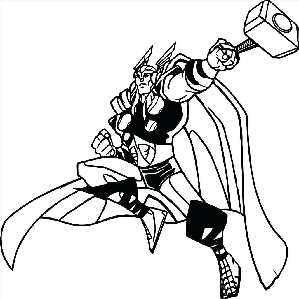 1024x1026 Coloring Page ~ Thor Coloring Page War Machine Pages Pdf Thor