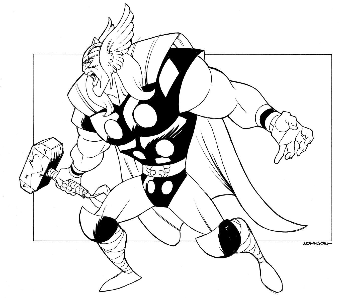 1380x1189 Big Thor By Johnsonverse