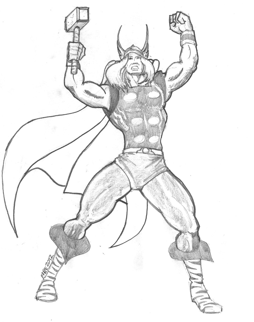 813x1032 Paul's Blog The Mighty Thor