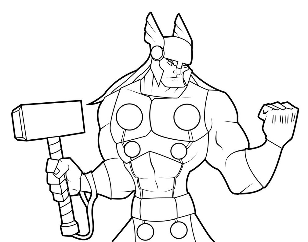 1009x792 Thor Lines By Foyled