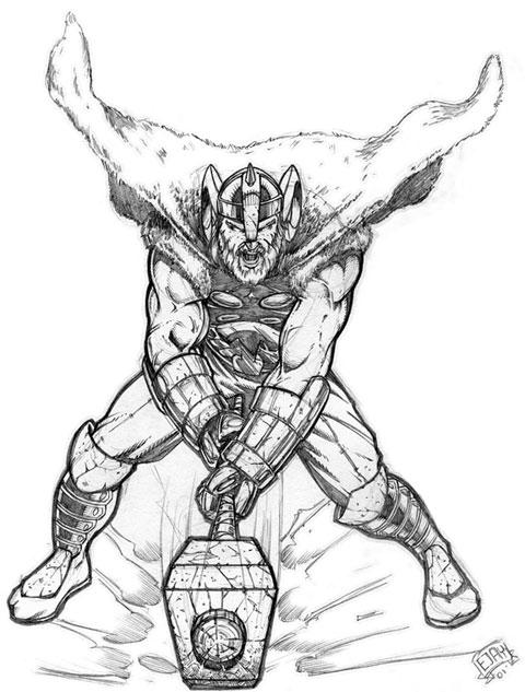480x633 Viking Thor By Ejay32
