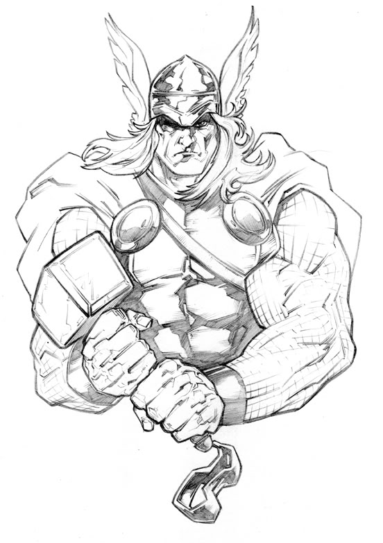 552x783 Image Result For Thor Tattoo Drawings Thor Tattoo