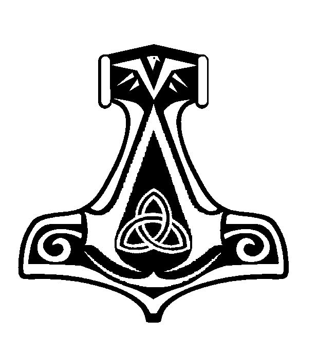 617x691 Assassin's Creed Norwegian Thor's Hammer Insignia By Costitan