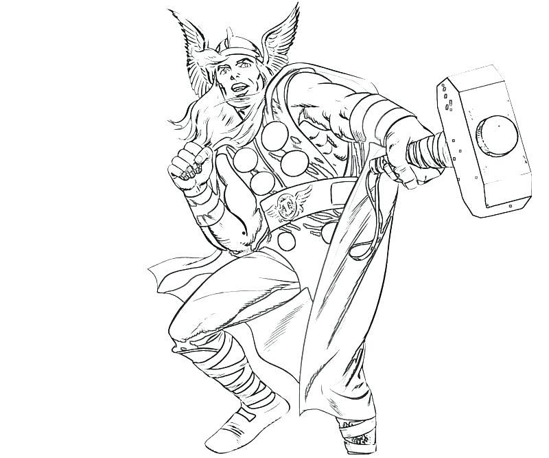 800x667 Coloring Thor Colouring Pictures Comic Coloring Pages Printable
