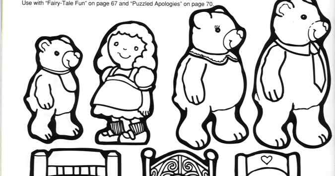 675x354 Storytime And More Goldilocks And The Three Bears Story Patterns