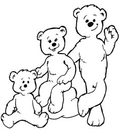 236x263 The Three Bears Coloring Pages Goldilocks Page