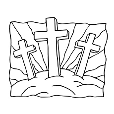 230x230 Top 10 Free Printable Cross Coloring Pages Online Jesus
