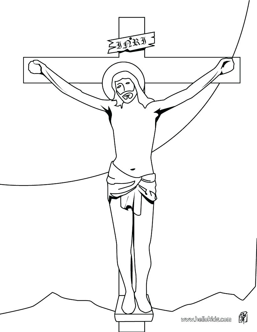 820x1060 Coloring Cross Coloring Page On The Printable Pages For Adults