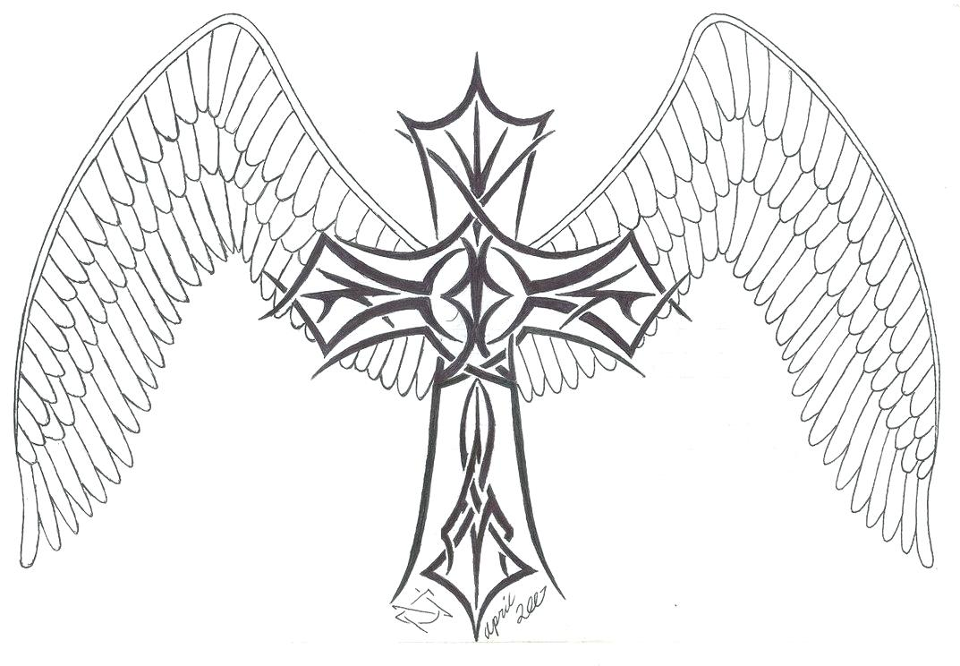 1073x744 Coloring Crosses Coloring Pages