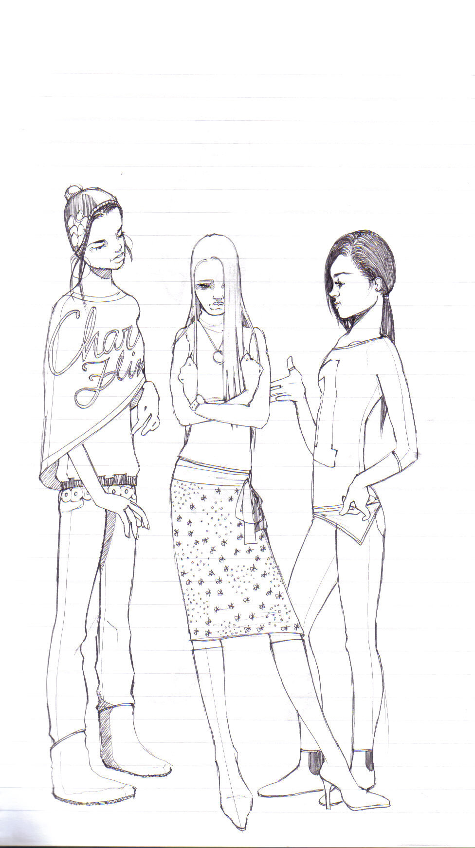 976x1742 3 Girls By Lulu Ibeh