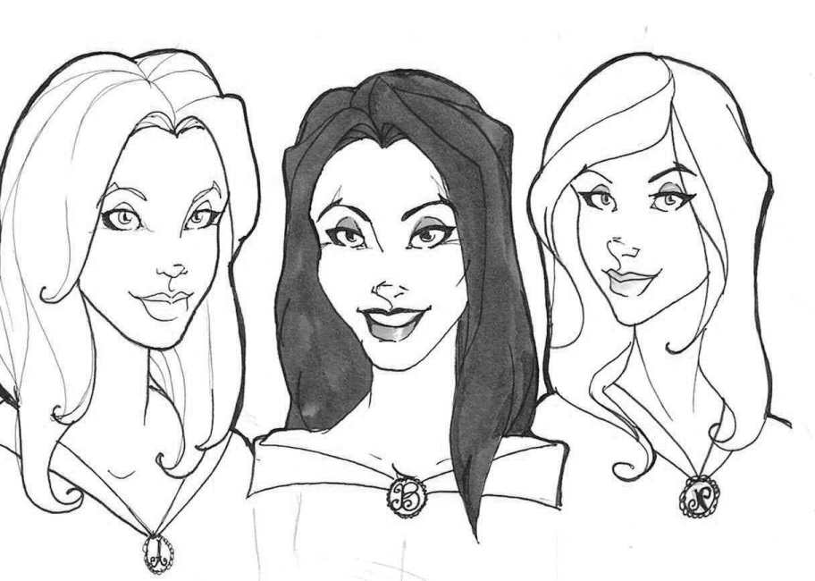912x650 The 3 Sisters Black By Maraudress