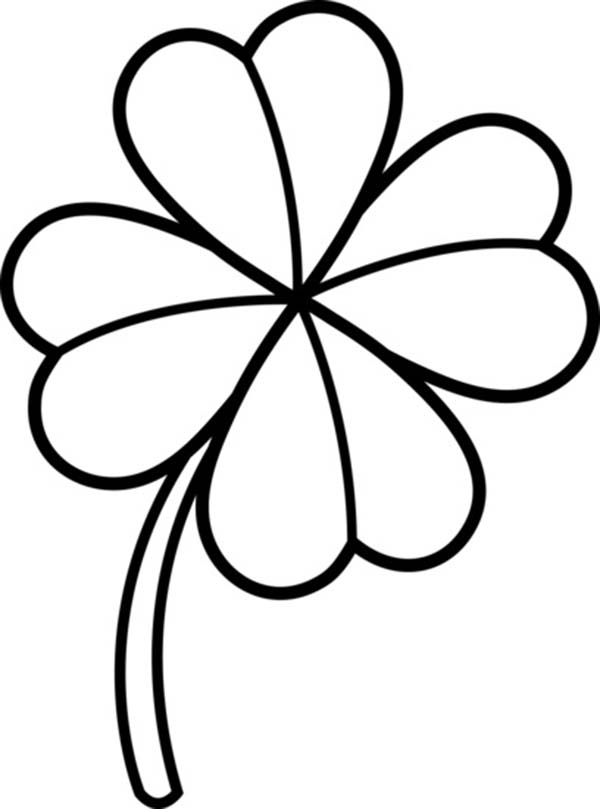 Three Leaf Clover Drawing at GetDrawings | Free download