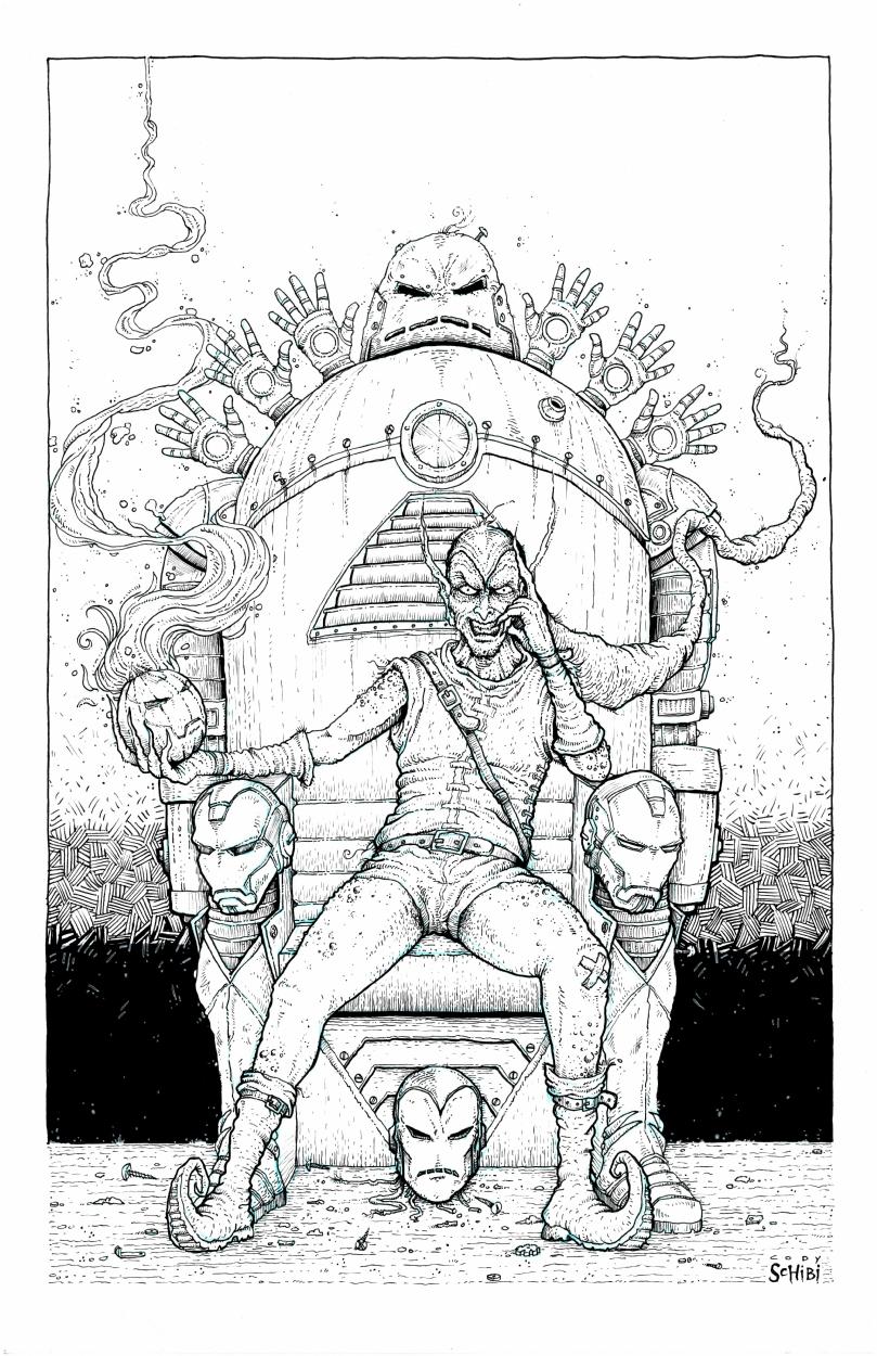 809x1250 Green Goblin Claims Iron Throne, In Joshua Mccoy'S