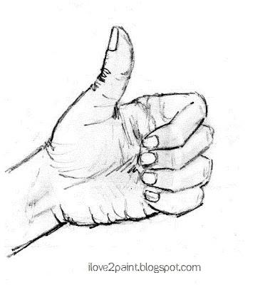 Thumb Drawing